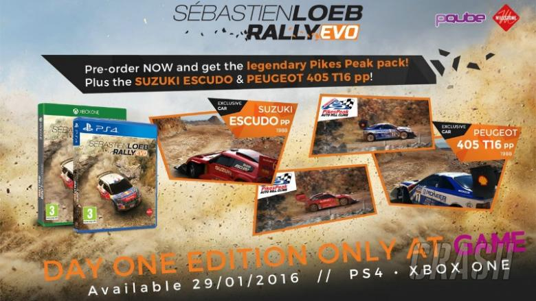 Sebastien Loeb Rally Evo lands