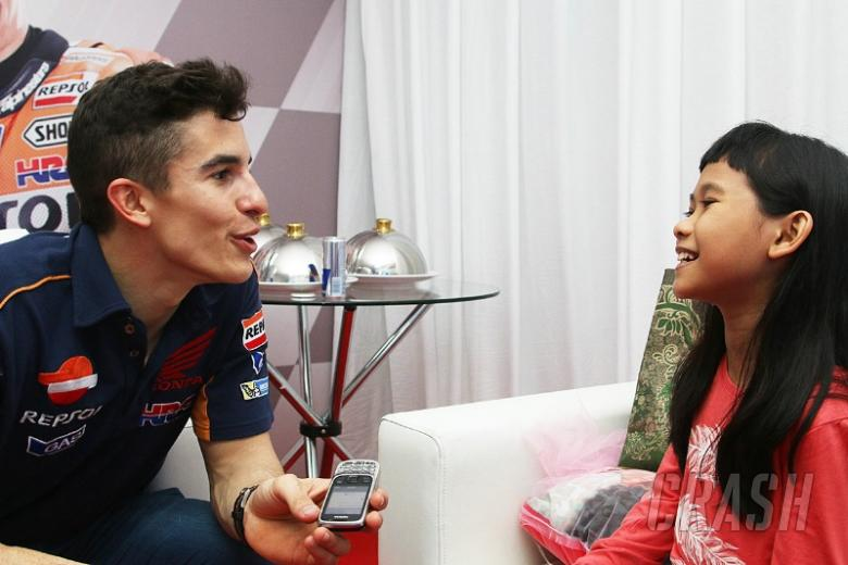VIDEO: Shaina interviews Marc Marquez