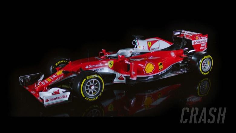 Ferrari reveals striking SF16-H for F1 2016