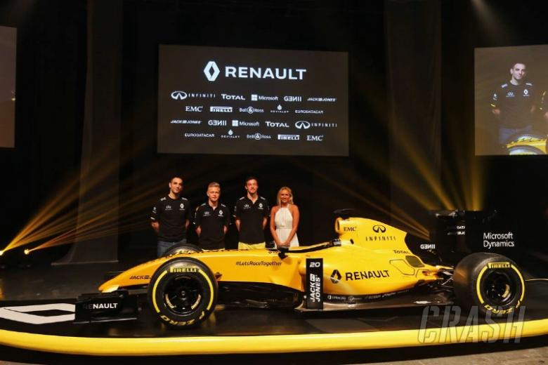 Renault unveils livery on eve of F1 comeback