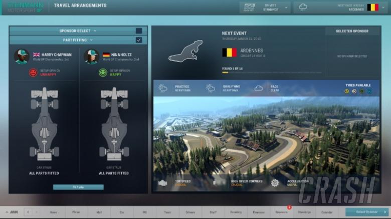 Motorsport Manager set for September 2016 launch