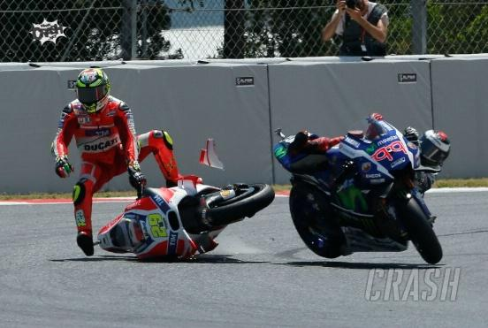 Iannone punished, 'should have gone for the outside'