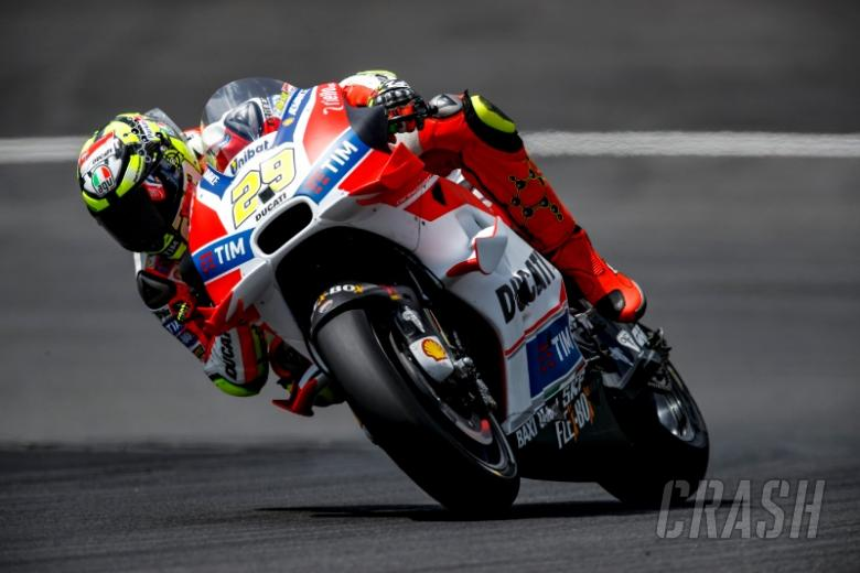 Austria MotoGP test times - Wednesday
