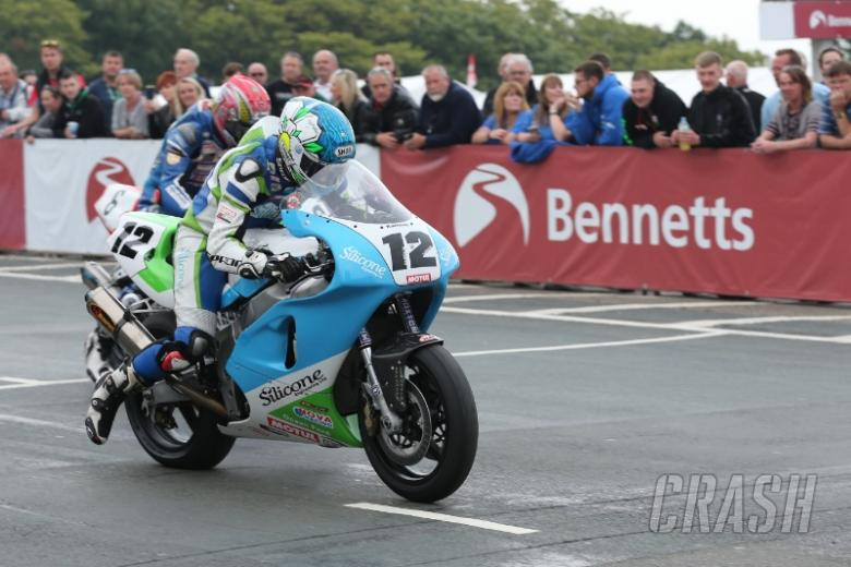 Classic TT: Dean Harrison fastest as session halted