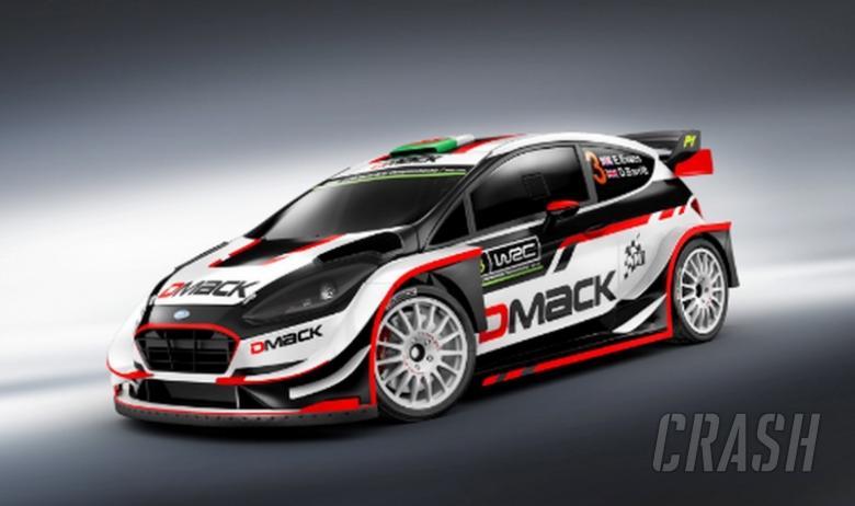 DMACK pulls wraps off 2017 WRC Fiesta