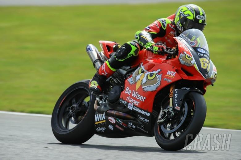 Shane Byrne, Be Wiser Ducati, [Credit: Ian Hopgood]