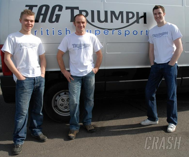 BSS: TAG enter with Triumph backing