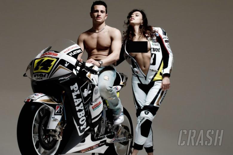 LCR Honda confirms Playboy deal.