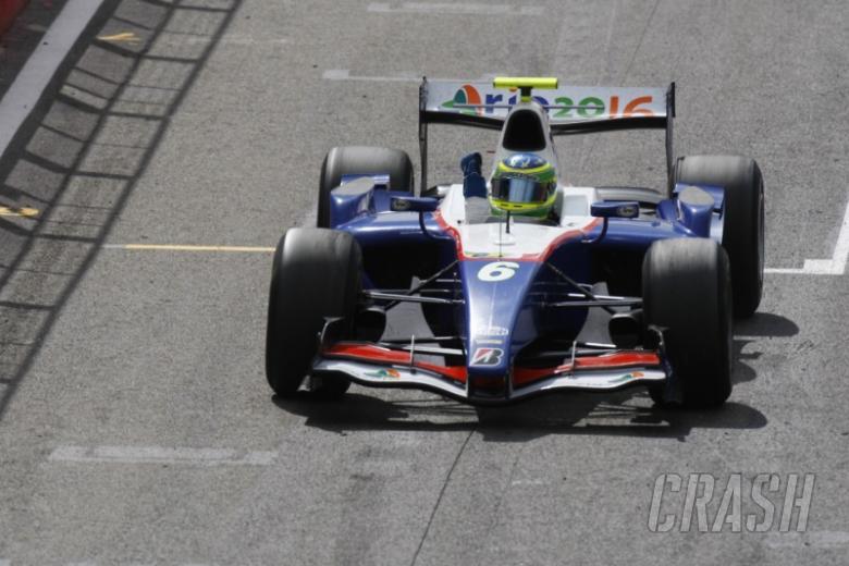 Valerio scores surprise Silverstone success.