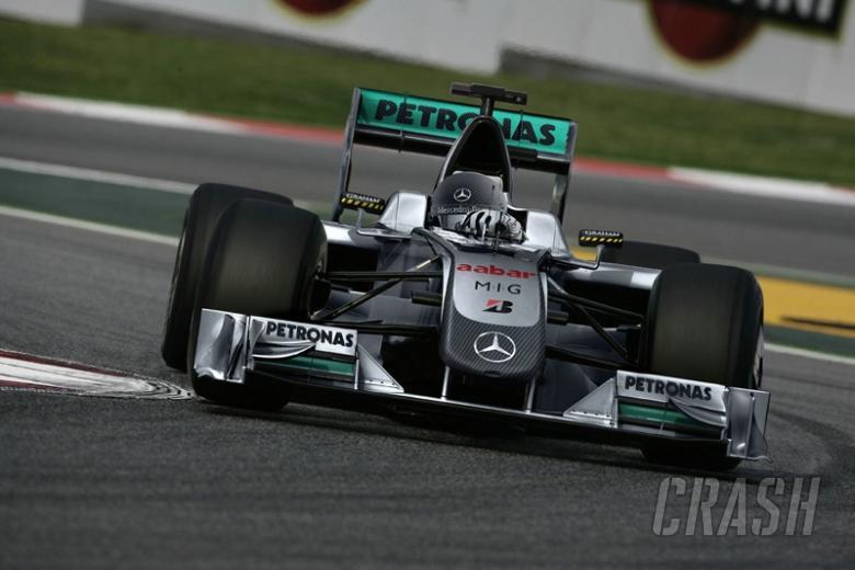 Mercedes confirms title sponsor for F1 2010
