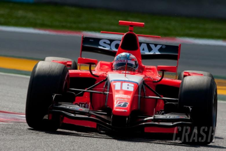Pic powers to victory in Barcelona