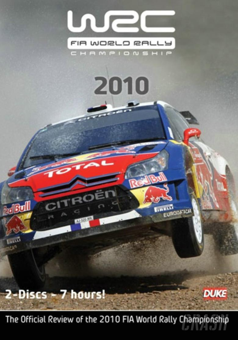 2010 WRC Official Review released on DVD!