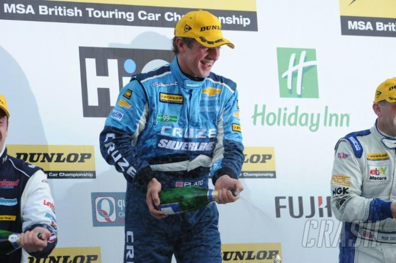 Plato to defend title with RML, Chevrolet