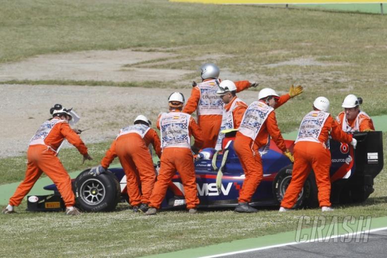 New car for Jolyon Palmer at Monaco