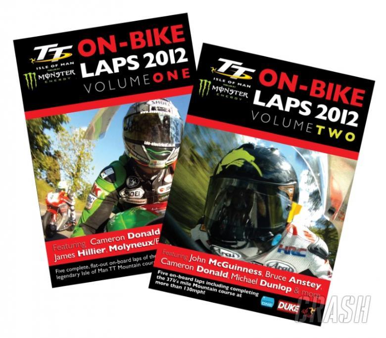 TT2012 On-Bike Laps: DVD, Download, Discount!
