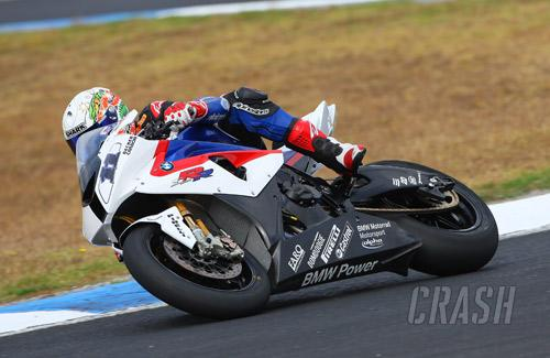 Troy Corser - BMW Motorrad Team Alpha Racing S1000RR [pic credit: GNG]