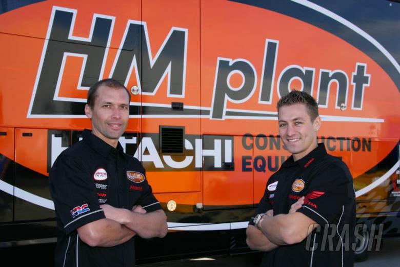 Glen Richards, Joshua Brookes - HM Plant Honda