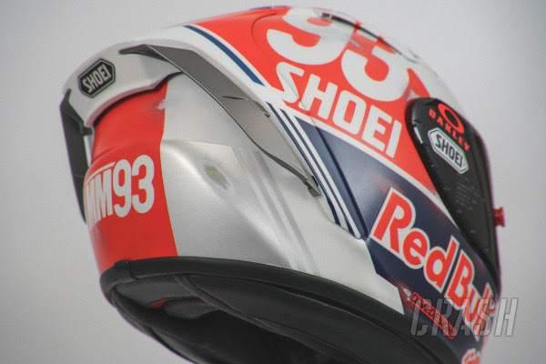 Marc Marquez unveils 'Retro' helmet for German MotoGP