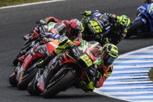 'Mendebarkan' - Iannone memimpin untuk Aprilia