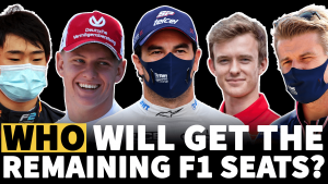 Video F1: Yang terbaru tentang pasar pengemudi 2021 - Siapa yang akan mendapatkan kursi terakhir?