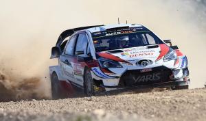 Tanak memimpin Toyota 1-2-3 di Rally de Portugal