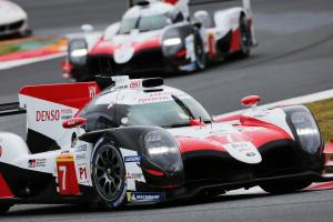 Lopez, Kobayashi lead Toyota to home Fuji WEC pole