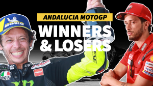 Andalucia MotoGP - The winners... and the losers