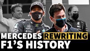 Bagaimana Mercedes menulis ulang sejarah F1 dengan gelar ketujuh yang luar biasa
