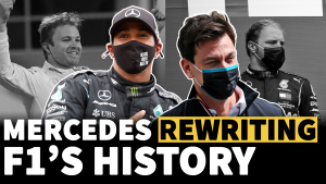How Mercedes is re-writing F1 history with magnificent seventh title