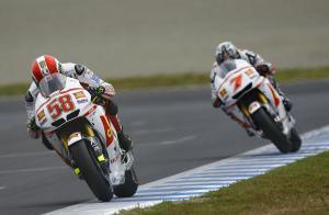 Simoncelli and Aoyama, Japanese MotoGP 2011