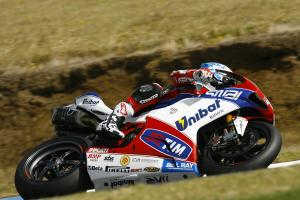 Checa, Australian WSBK tests and race, February 2012