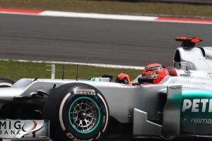 14.04.2012 - Free Practice 3, Michael Schumacher (GER) Mercedes AMG F1 W03