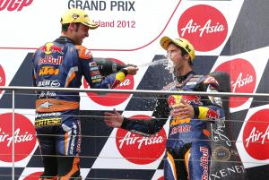 Cortese and Sissis, Moto3, Australian MotoGP 2012