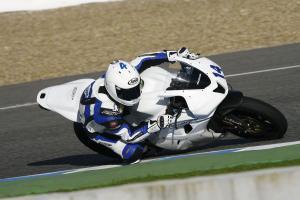 Jack Kennedy, Jerez tests, November 2012