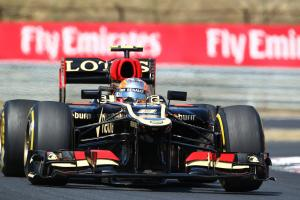 28.07.2013- Race, Romain Grosjean (FRA) Lotus F1 Team E213