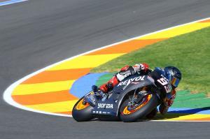 Marquez, Valencia MotoGP test, November 2013
