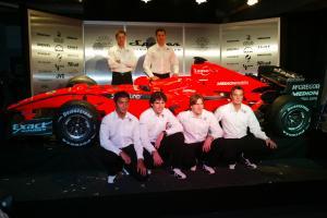Spyker Formula One Team launch, Silverstone, 5th February 2007, the new 2007 Spyker-Ferrari F8-VII.