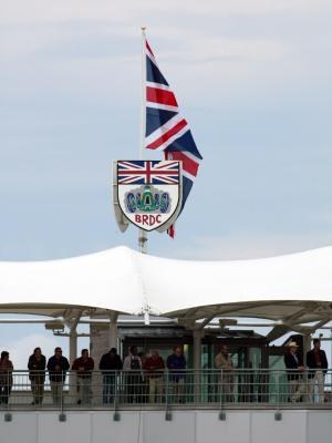 The BRDC Club house at Silverstone