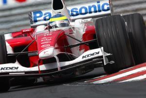 Ricardo Zonta - Toyota TF104B