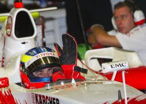 Ricardo Zonta - Toyota F1