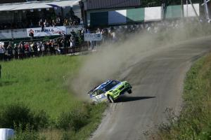 Mikko Hirvonen (FIN) / Jarmo Lehtinen (FIN), BP Ford Focus RS WRC 07. Rally Finland, 2nd-5th August