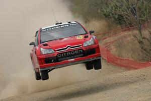 Conrad Rautenbach (ZW) / David Senior (GBR), Citroen Xsara WRC