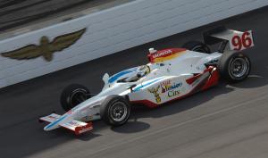 Indy Racing League. 5 May 2008. Indy 500 practice. Indianapolis, Indiana, USA.Mario Dominguez.