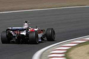 Timo Glock (GER) Toyota TF108, British F1, Silverstone, 4-6th, July, 2008