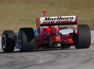 IRL IndyCar Series   Jan. 19-22, 2005 Open Test   Homestead-Miami Speeday helio castroneves