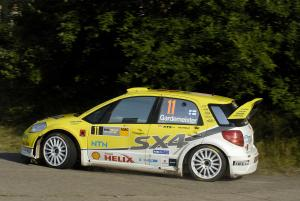 Toni Gardemeister (FIN) Tomi Tuominen (FIN), Suzuki SX4 WRC, Suzuki World Rally Team
