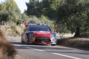 Sebastian Loeb (F) - Daniel Elena (MC) Citroen C4 WRC, Citroen Total World Rally Team