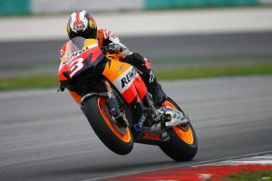 Pedrosa, Sepang MotoGP tests, 2009