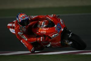 Stoner, Qatar MotoGP Test 2009