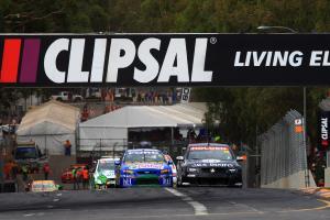Rick Kelly, (aust), Jack Daniels Kelly Racing Commodore  Clipsal 500 Rd 1 V8 Supercars Adelaide SA